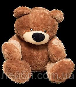 Большой плюшевый коричневый медведь Бублик 180см