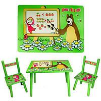 Набор детской мебели Столик + 2 стульчика «Маша» м 0295 КИЕВ, фото 1