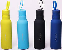 Термос-бутылка Kamille Perfection&Style 475мл с петлей