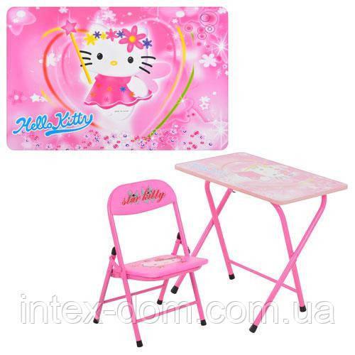 Детская парта - столик со стульчиком DT 18-11 Hello Kitty