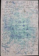 Авангард, синий ковер в гостиную - АНТИГУА 227Q/Q26 - АНТИГУА 227Q/Q26 (85162) - 195X280