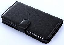 Кожаный чехол-книжка для Meizu M5S белый, фото 2