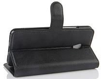 Кожаный чехол-книжка для Meizu M5S белый, фото 3