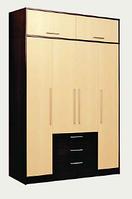 Шкаф 4х-дверный Комфорт 2