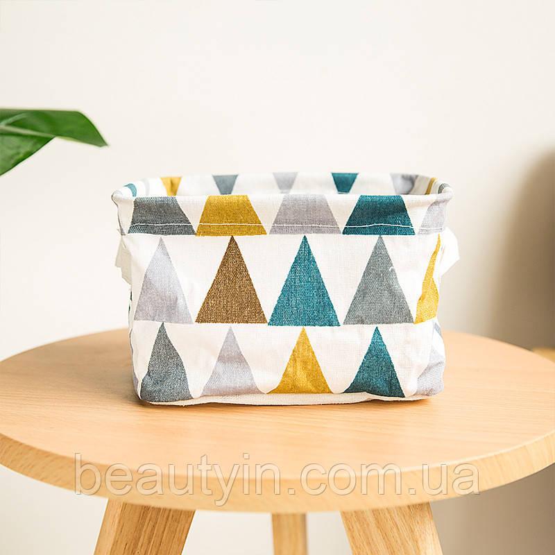 Корзина для игрушек, белья, хранения Треугольники Berni