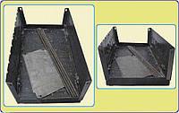 Мангал-чемодан из стали, на 10 шампуров, компактный, удобная ручка для переноски, общая высота 70 см