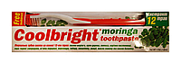 Зубна паста Coolbright Moringa Екстракт Моринги - 130мл. + Зубна щітка