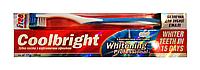 Зубна паста Coolbright Whitening Professional з відбілюючим ефектом - 130 мл + Зубна щітка