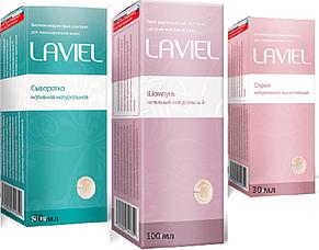 Комплекс LAVIEL - серия (шампунь, спрей, сыворотка) для ламинирования и кератирования волос (Лавиель), фото 2