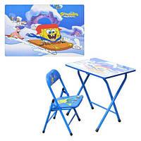 Детская парта DT 18-3 – столик со стульчиком Спанч Боб, фото 1
