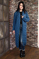 Donna-M CARDIGAN Long ( джинса ) CDL08, фото 1