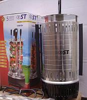 Бытовая электрическая шашлычница ST 60-140-01 от ЧП Кулик, 5 шампуров, максимальная загрузка – 1,5 кг