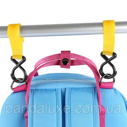 Жіночий рожевий рюкзак сумка Побачення ViViSECRET, фото 3