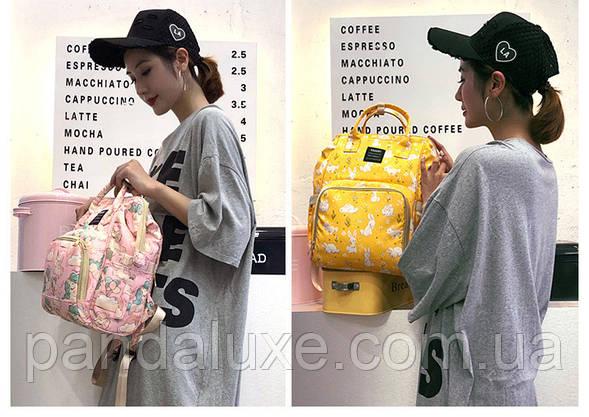 Женский рюкзак сумка Цветы ViViSECRET, фото 3