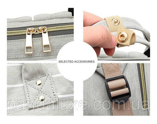 Женский стильный рюкзак сумка Полосы ViViSECRET, фото 3
