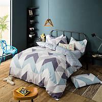 Комплект постельного белья Углы (двуспальный-евро)