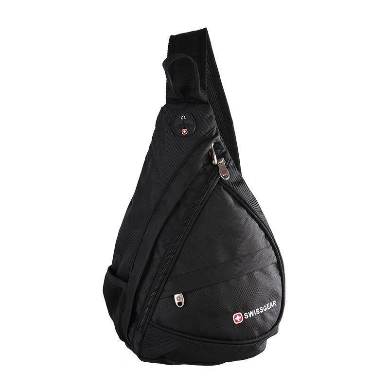 Сумка-рюкзак на одно плечо Swissgear Bag Wenger. Черная