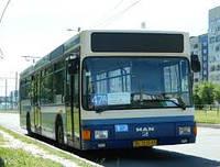 Стекло автобуса лобовое MAN NL 202