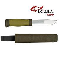 Нож MORA Outdoor 2000 Green, нерж.сталь