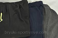 Брюки спортивные зимние мужские под манжет - карманы на молнии, фото 2