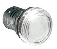 Индикатор щитовой 22 мм белый 220 AC 8LP2TILM8P