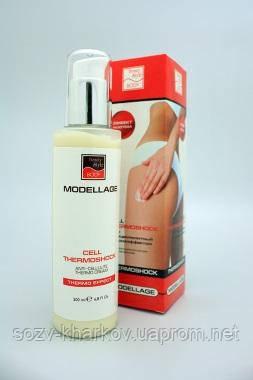 Антицелюлітний крем Beauty Style «CELL THERMOSHOCK», 200 мл, Modellage