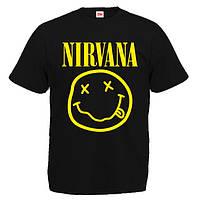 """Футболка """"Nirvana Smile"""" (Нирвана)"""