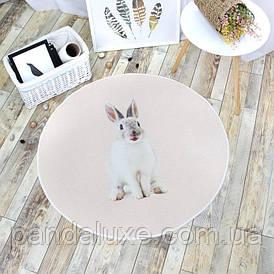 Килимок Bunny на гумовій основі 100 х 100 см