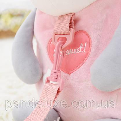 Рюкзак детский велюровый Панда, фото 3