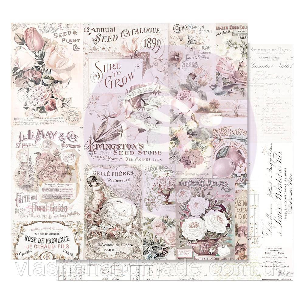 Папір двосторонній - My Lovely Garden - Lavender Frost - Prima Marketing - 30x30