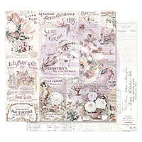 Папір двосторонній - My Lovely Garden - Lavender Frost - Prima Marketing - 30x30