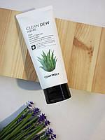 Увлажняющая пенка для умывания с алоэ Tony Moly Clean Dew Foam Cleanser 180ml