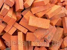 Кирпич, одинарный, красный 25*12*6.5 см