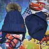 Модная зимняя шапка и шарф Grans (Польша).