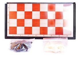 Шахматы на магнитной, пластик. доске 27,5 * 14см