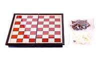 Шахматы на магнитной, пластик. доске 24,5 * 13см
