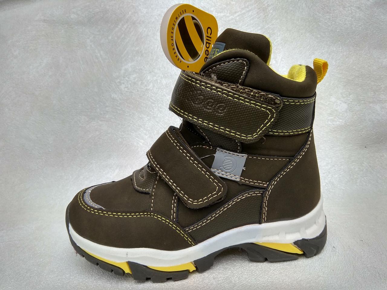 2a25321bd3e129 Зимние ботинки для мальчиков Clibee (р.26-31), цена 416,87 грн ...