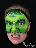 Грим  карнавальный зеленая основа, фото 4