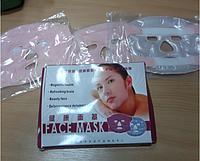 Турмалиновая акупунктурная маска для массажа лица третьего поколения
