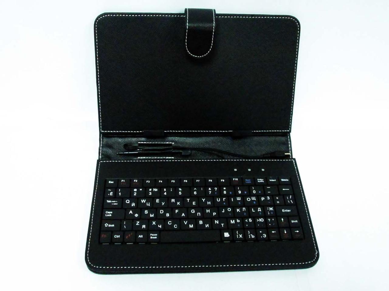 Чохол з клавіатурою для планшетів 9 дюймів (мікро USB)