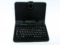 Чехол с клавиатурой для планшетов 9 дюймов (микро USB) , фото 1