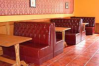 Мебель для кафе и баров из кож. зама в Одессе на заказ