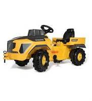 Детский педальный трактор Rolly Toys 881000