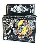 Игрушка-Волчок Бейблейд Взрыв BEYBLADE BURST Lost Longinus Gold Dragon Луинор Золотой Дракон реверсный В00-L, фото 6
