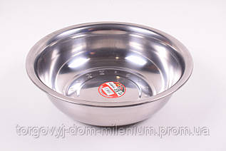 Миска из нержавеющей стали (диаметр 36см.) 36см