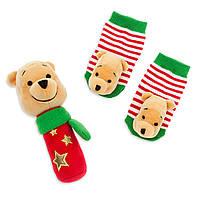 Носочки и погремушка для новорожденного, Disney
