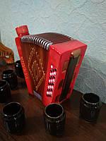 сувенирная бутылка штоф гармошка