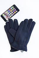 Стильные черные мужские перчатки