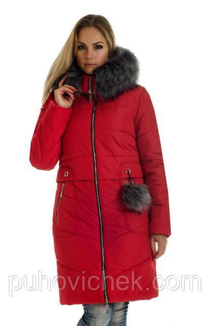 Зимние куртки и пуховики женские новинка