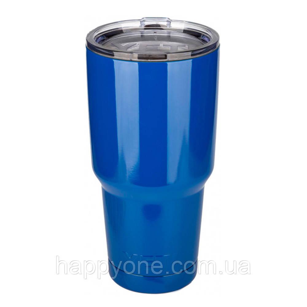Термокружка YETI Rambler Tumbler (890 мл) синяя